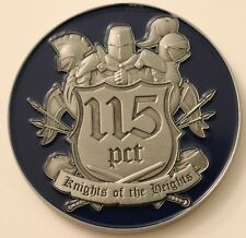 NYPD 115 Precinct PCT Knights of the Heights Challenge Coin