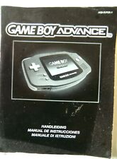 65959 Instruction Booklet - Game Boy Advance Console - Nintendo Game Boy Advance
