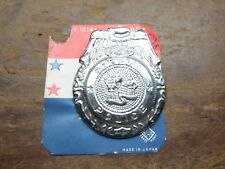 Vintage Special Police Toy Badge - 50's Made In Japan