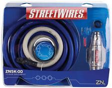 MTX StreetWires ZN5K-00 1/0 AWG Amplifier Kit 100% OXYGEN FREE COPPER