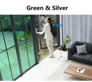 Mirrored Green Window Film UV Proof glass sticker Reflective Window Adhesive