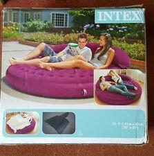 INTEX Ultra Lounge Divano Letto Gonfiabile Air Bed Sedia Interni Esterni AIRBED