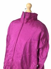 Vintage adidas Shell Suit Tracksuit Zip Up Top Retro Pink Size - XXL