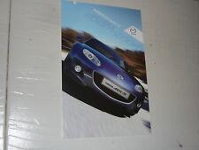 November 2011 Mazda MX5 brochure very rare NC  n NA NB ND Miata Roadster 2