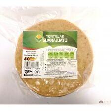 Gluten Free Bianco Mais Messicano TORTILLAS. GRATIS UNA CARAMELLA Messicana