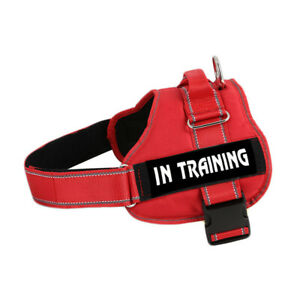 S-XXL Working Dog Vest Service Dog Harness Heavy Duty For Pitbull Boxer Husky