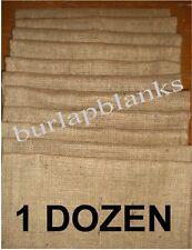 Burlap Garden Flags 1 Dozen Wholesale Blank Best Price!