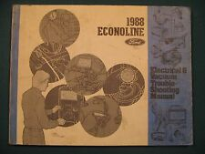 1988 Econoline Electrical & Vacuum Trouble Shooting Manual