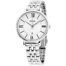 Fossil Jacqueline Silver Dial Stainless Steel Ladies Watch ES3433