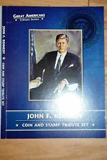2016 John F. Kennedy Coin and Stamp Tribute Set-Includes Half Dollar and Dollar