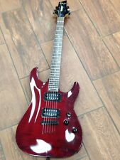 """Schecter """"Gryphon"""" Diamond Series Electric Guitar Red"""