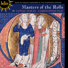 Christopher Page : Masters of the Rolls CD (2012) ***NEW*** Fast and FREE P & P