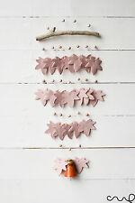NUOVO fatto a mano rosa e arancione SCACCIAPENSIERI naturale Windchime BELL BELLISSIMO SUONO