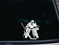 Ice Hockey Goalie Decal -TONS OF DETAIL- Top Quality!