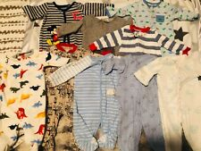 New listing baby boy clothes 3-6 months 9 piece pajama lot and 1 pottery barn sleep sack
