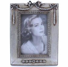 Bilderrahmen Jugendstil Fotorahmen Antik Rahmen 15cm x 10cm Silber