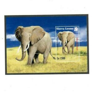 VINTAGE CLASSICS - Sierra Leone 1820 - Fauna Flora - Souvenir Sheet - MNH