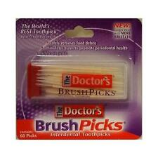 Brush Picks The Doctors Brushpicks Interdental Toothpicks 60 Ct Good Deal