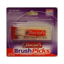 Brush Picks The Doctor's BrushPicks - Interdental Toothpicks - 60 ct (Good Deal)
