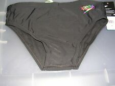 New listing SPEEDO ENDURANCE - BLACK WITH MULTI COLOR SPEEDO LOGO ON THE BACK - SIZE 32 NWT!