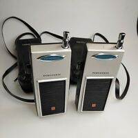 Vintage Panasonic Transceiver RJ-3 vintage walkie talkies with cases