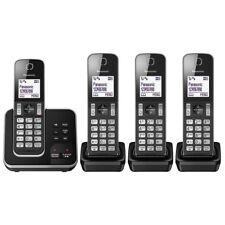 New Panasonic KX-TGD324EB Cordless HomePHONE with Nuisance Call Blocker&Digital