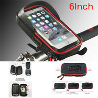 Waterproof Motorcycle Handlebar Sunshade Holder Mount Wallet Case For Phone&G NT