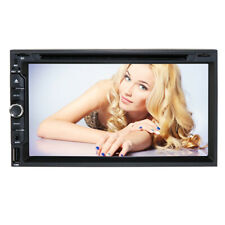 "Sony CD Lens Double 2Din InDash 7"" Car Stereo Radio DVD Player AUX Bluetooth USB"