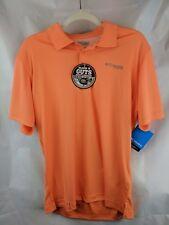 Columbia Men S PFG Blood Guts Short Sleeve Orange Shirt Omni-Shield Fishing New
