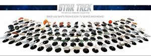Star trek Official Starship Collection - Eaglemoss - Various Issues 01 - 95