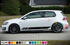 Side Door Stripes for Volkswagen Golf Mk7 GTI Spoiler 2013 2014 2015 2016 2020