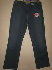 V V 24 ) NEW WITH TAGS ) WOMENS BLUE LEVIS BOOTCUT JEANS  WAIST 30 LEG 30