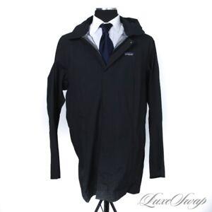 NWT CURRENT $499 Patagonia 20700 Black City Storm Hooded Rain Parka Coat XL NR
