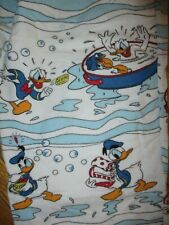 DONALD DUCK FLANNEL PAJAMA PANTS Bath Time Rubber Duck Bubbles Disney Adult S/M