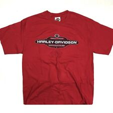 Harley Davidson 2002 Rehoboth Beach Red T Shirt Mens Large Motorcycle