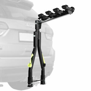 Quick Release Bike A Frame Twin Pole Bicycle Car Rack Tow Ball Mount SUV Trailer