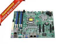 SUPERMICRO X9SCL Intel Xeon LGA 1155 H2 C202 Micro ATX Motherboard DDR3 4 Slots