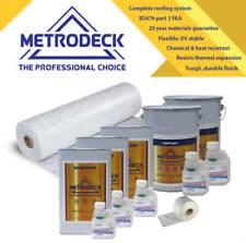 RP40 - GRP Fibreglass Roofing kit 8 m2 Metrodeck 1 layer 600g CSM
