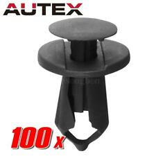 AUTEX 100pcs Push Type Retainer Car Clips Fastener for GM FORD Chrysler