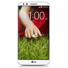 LG G2 D800 4G LTE 32GB AT&T Unlocked GSM Android Cell Phone - White