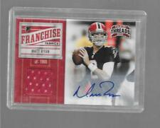2011 Panini Threads - MATT RYAN - Autograph Game Used Jersey - FALCONS #d 01/10