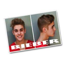 "Justin Bieber 2014 DUI Miami Beach Mug Shot 11x17"" Poster"