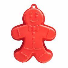 Mason Cash Qualité Gingerbread Man Grand gâteau moule Pan silicone 27 cm 2007.954