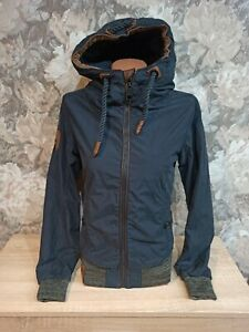 Naketano Women's   jacket blue color size  XS  hooded