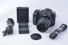 EXC++ SONY A100 w/18-55mm F3.5-5.6 DT ZOOM 10.2 MP DSLR, 2BATTS, CHARGER, TESTED
