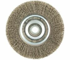 Wire Wheel Brush Crimped Stainless Steel  5/8