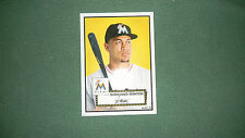 2015 Topps Limited Gold Ed. 10x14 Giancarlo Stanton 1952 Tribute Wall Art 1/1