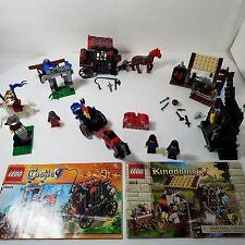 Lego Kingdom sets 6918 70401 6022 4801 6030 6008 NO BOXES INCOMPLETE