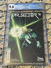 Far Sector #1 CGC 9.8 Martinbrough Variant 1st Jo Mullein DC 2020 Green Lantern