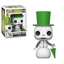 Nightmare Before Christmas Snowman Jack Skellington Disney: POP FUNKO FIGURE